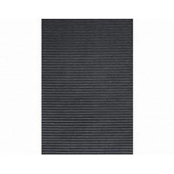 Gummi-Abtropfmatte Teppich gelocht schwarz - Tappeto gomma nero