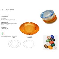 Sektflaschenverschluss Stopper Colibri Kunststoff färbig Tappo Champagne Plastica colorata